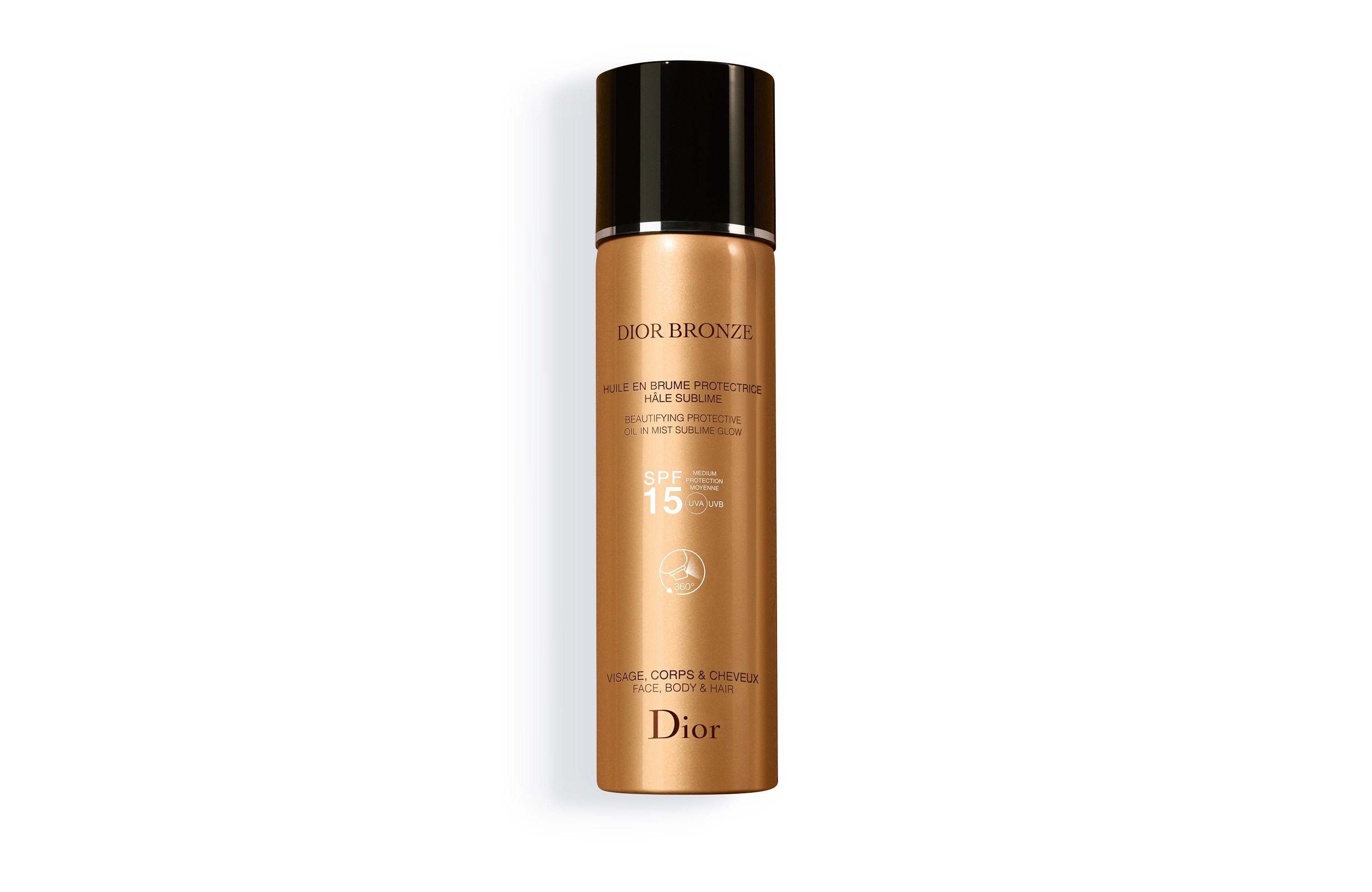 Dior Bronze Beautifying Protective Oil Sublime Glow SPF 15