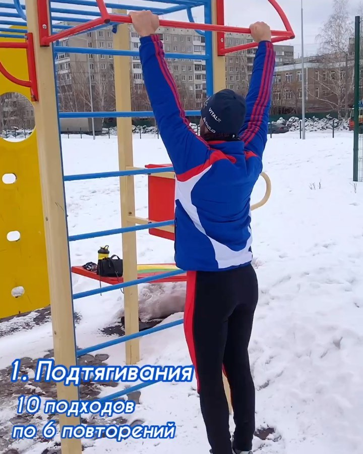 Физкульт-привет  от   ⠀ Вчера бегал на улице и делал домашнюю тренировку Сегодня...