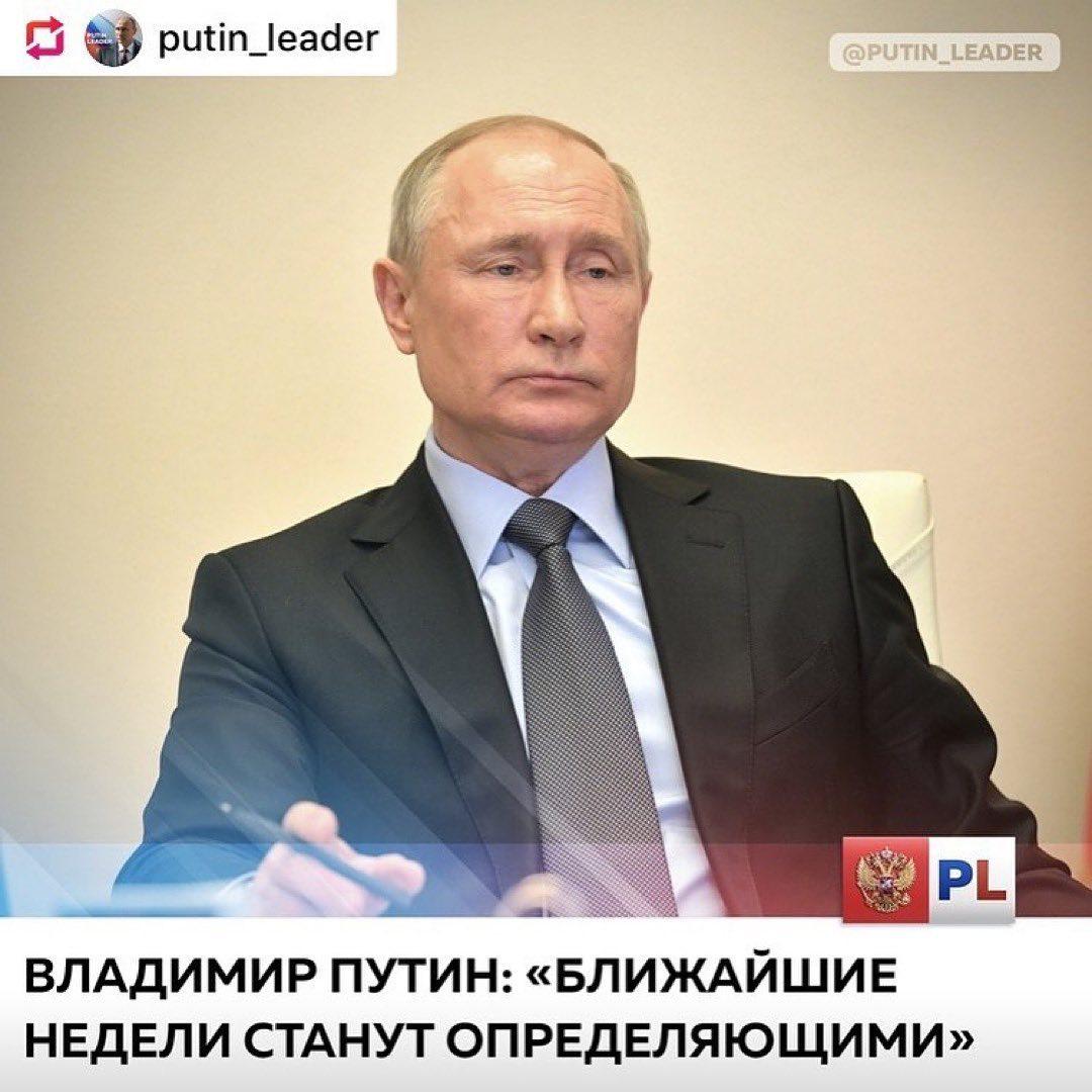 Posted  •    В формате видеоконференции Владимир Путин провел совещание по вопро...