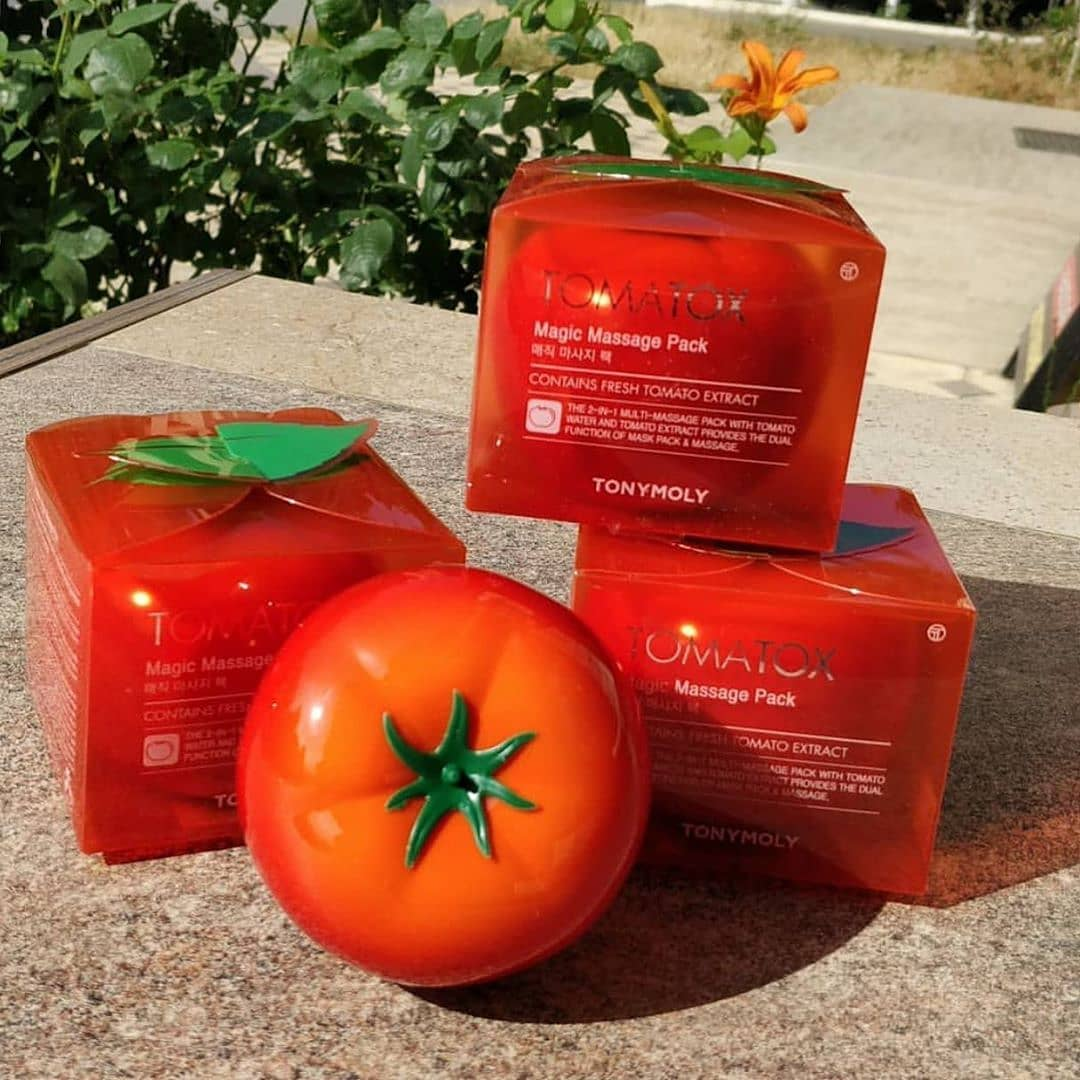 450₽₽ Tony Moly Tomatox Magic White Massage Pack - Осветляющая массажная маска ...