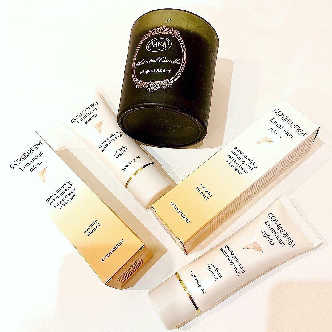 Coverderm Exfolia— Скраб для лица — 50 мл  605 гривен  Инновационный гипоаллерге...